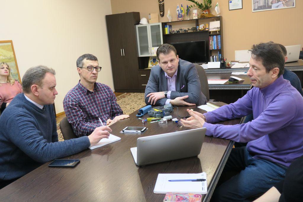 У департаменті енергетики презентували обладнання, яке збиратиме дані з приладів обліку енергоресурсів