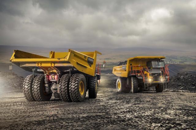 Volvo Construction осваивает новые карьерные самосвалы