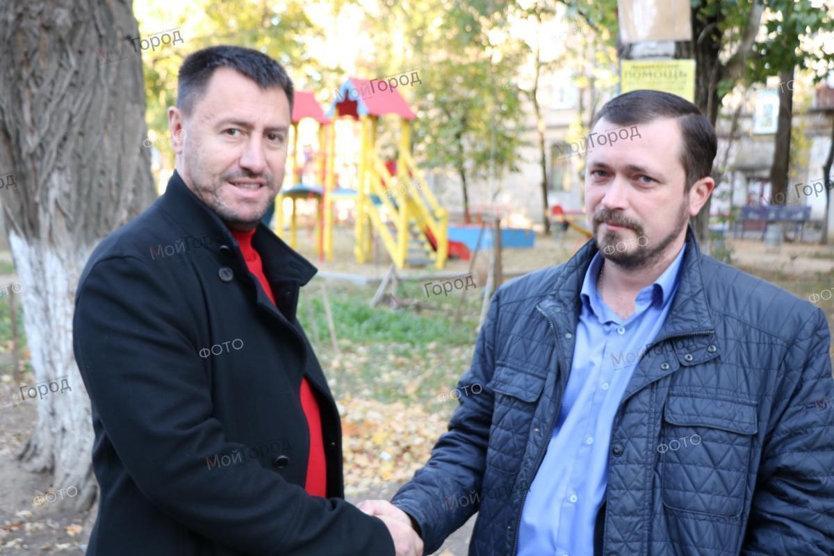 В Корабельном районе Николаева за 2,2 млн гривен отремонтировали внутридомовой проезд