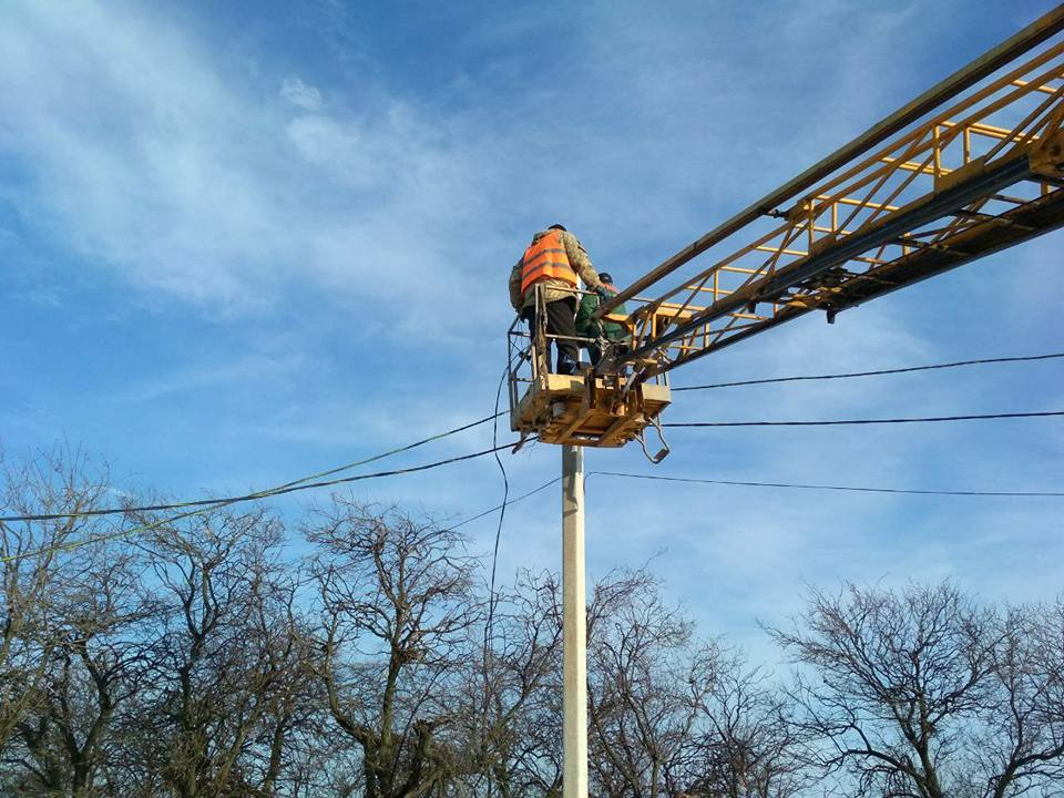 Реконструкции электросети