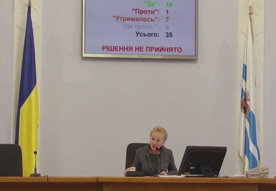 «Похороны земельным сессиям»: Николаевский горсовет смог принять всего один вопрос из повестки дня