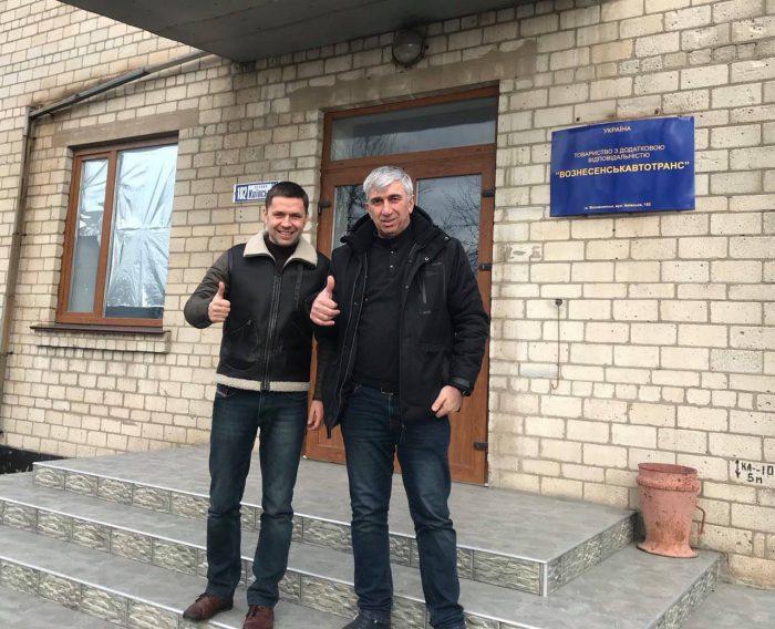 Вознесенцы первыми в Украине смогут оплачивать проезд в «маршрутке» банковской картой