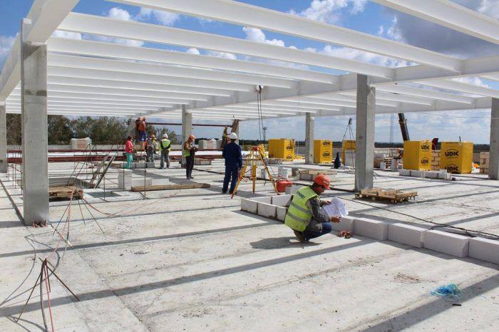 В аэропорту Запорожье показали, как продвинулись в строительстве нового терминала
