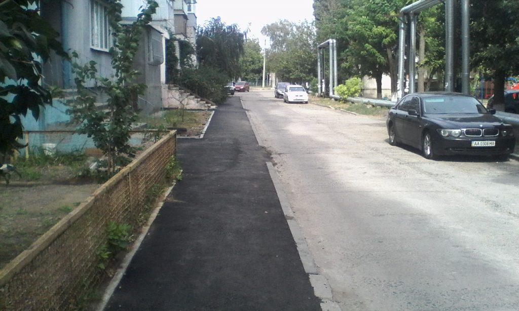 В Корабельном районе капитально отремонтировали часть Богоявленского проспекта