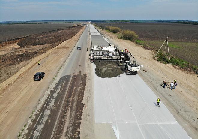 Турки строят дорогу за 12 млрд грн с помощью полиэтилена