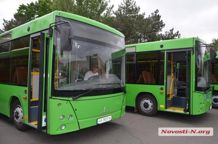В Николаеве хотят создать сервис, присылающий расписание автобусов по SMS