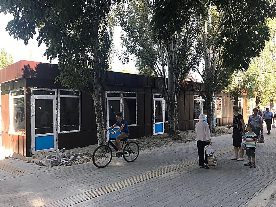 Исполком не смог инициировать демонтаж «будок», в их поддержку выступили Казакова и бизнес-партнер Пелипаса