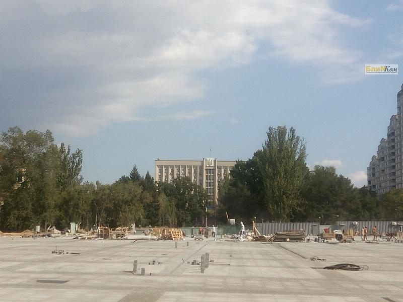 В Николаеве на реконструкцию Соборной площади не хватает 12 миллионов