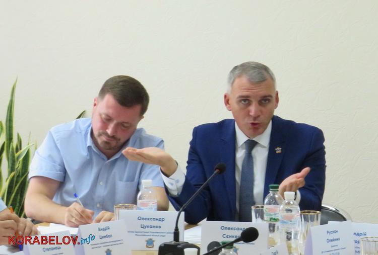 Сенкевич предложил портовикам построить платный переезд в Корабельном районе