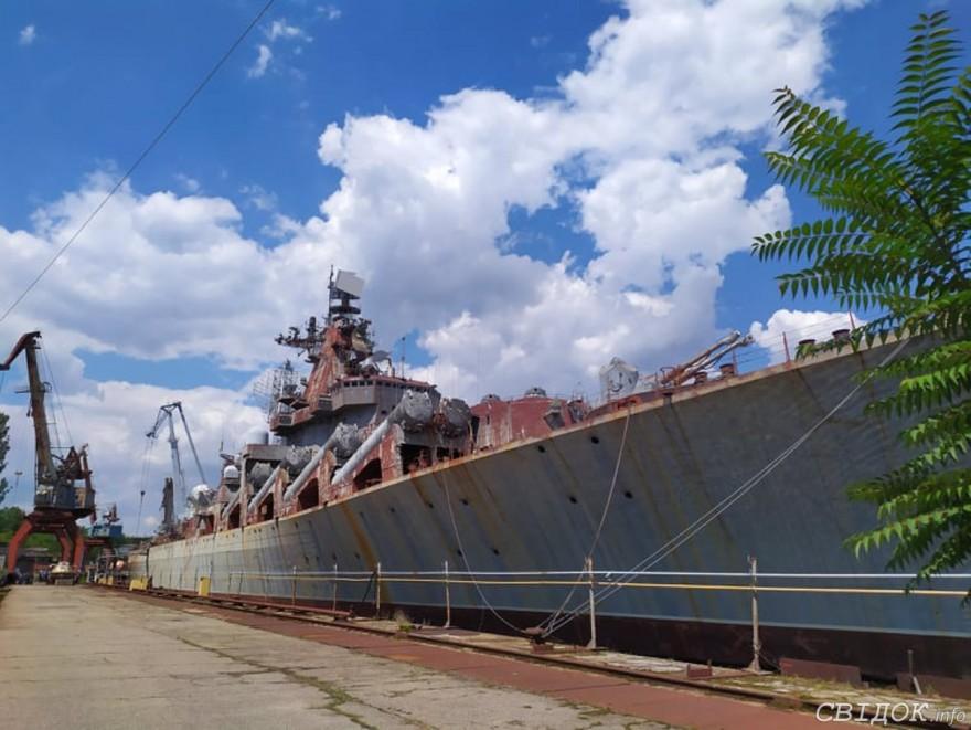 Губернатор Стадник предлагает сделать на базе крейсера «Украина» в Николаеве гостиницу и развлекательный комплекс