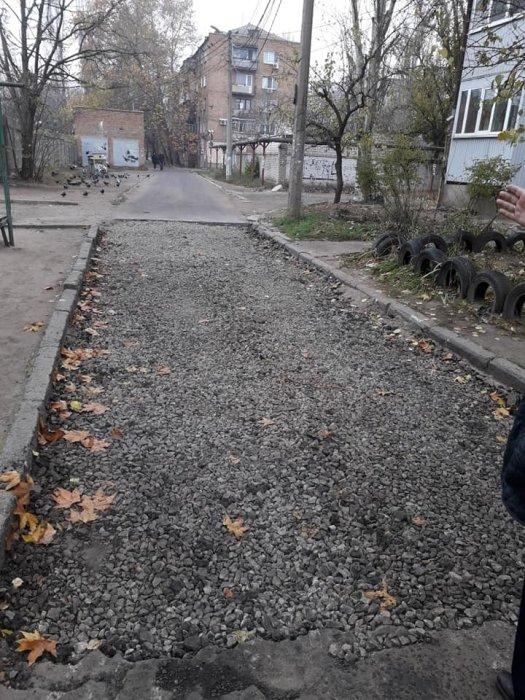 В Николаеве продолжают делать ремонт внутриквартальных проездов
