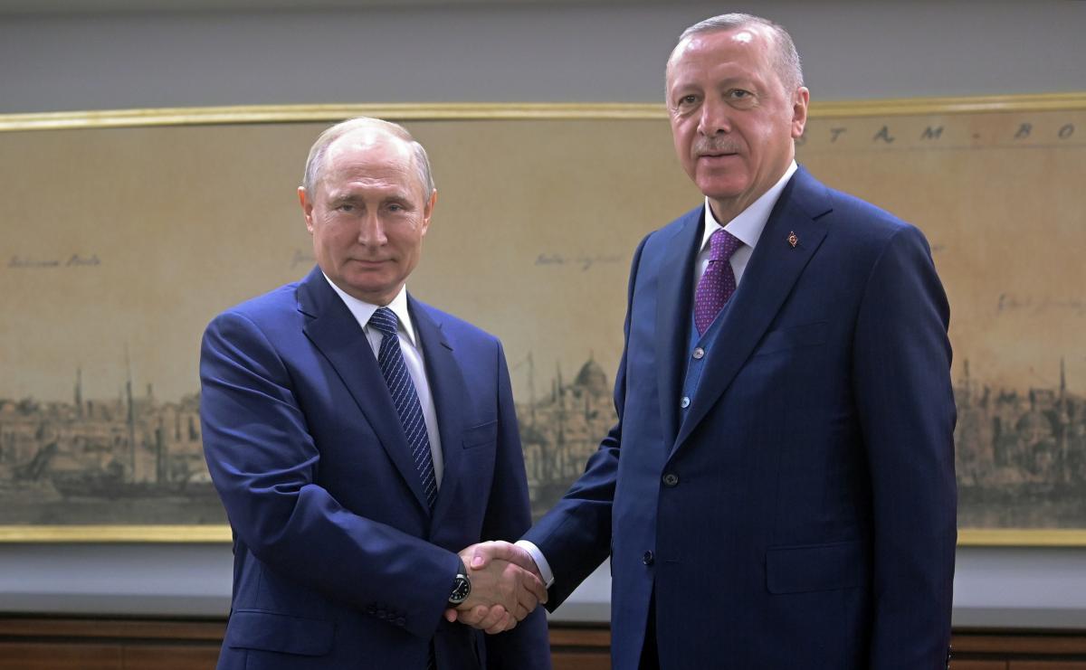Путин и Эрдоган официально запустили новый газопровод в обход Украины