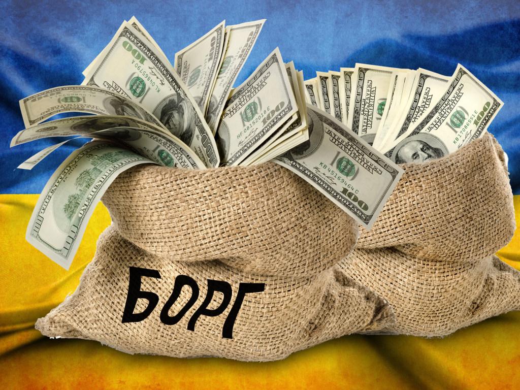 Госдолг Украины в апреле вырос на миллиард долларов