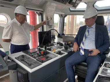 Вице-премьер Украины посетил завод