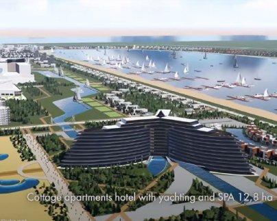 У моря построят шикарный курортный город