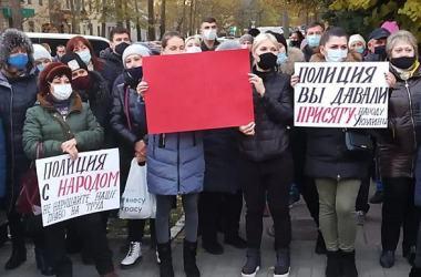 В Николаеве предприниматели протестуют против введения локдауна, о котором говорят в Кабмине