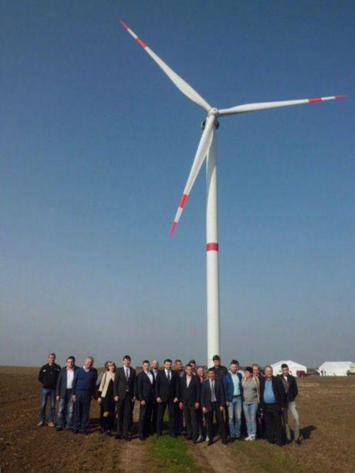 На Березанщине заработала самая мощная в Украине ветроэнергетическая установка