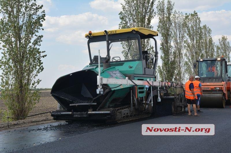При ремонте трасс Служба автодорог в Николаевской области растратила более 34 млн грн