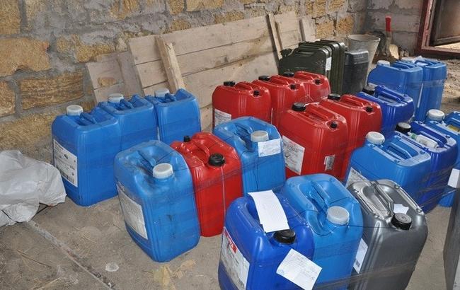 В Николаевской области СБУ разоблачила хищение топлива из воинской части