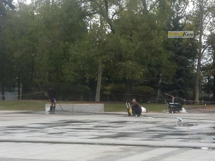 В Николаеве открыли дело относительно реконструкции Соборной площади