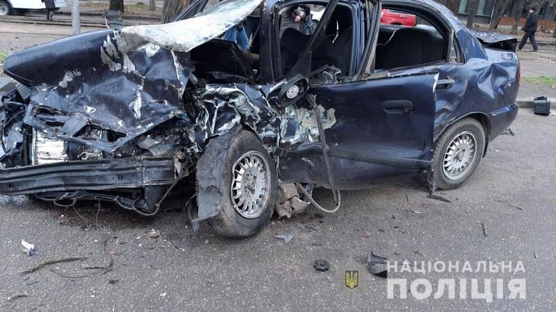 Николаевская полиция задержала 21-летнего водителя «Лексуса» совершившего смертельное ДТП