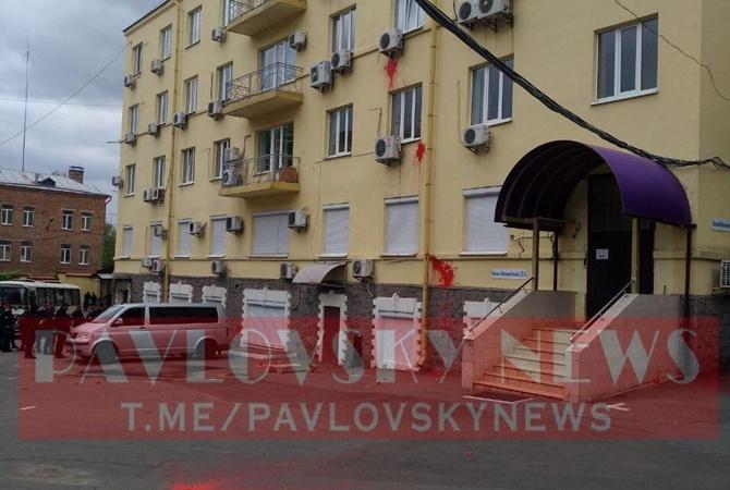 В Киеве прогремел взрыв возле офиса Медведчука