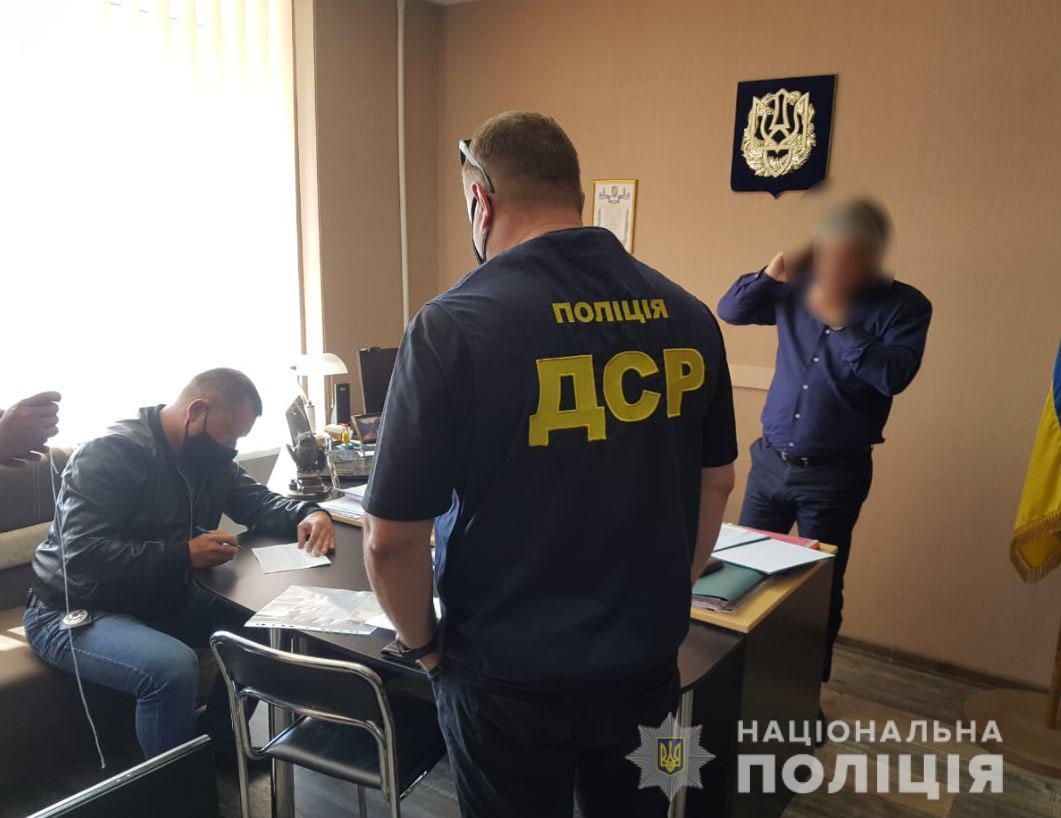 Чиновника-коррупционера задержали в Херсоне