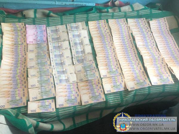 На взятке в 82,6 тыс.грн. задержан чиновник Ингульской администрации Николаева