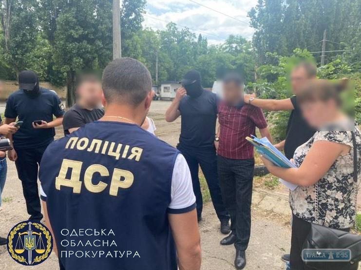 Полиция задержала одного взяточника из одесской мэрии