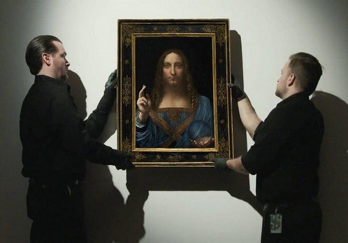 На арт-рынке установлен исторический мировой рекорд: картина Леонардо да Винчи продана за 450,3 млн долл