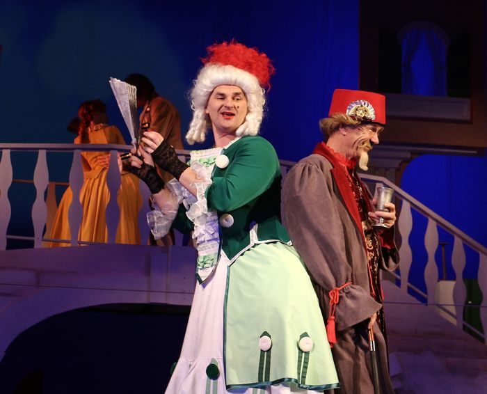 Фееричная премьера спектакля                 «Труффальдино, или Слуга двух господ»