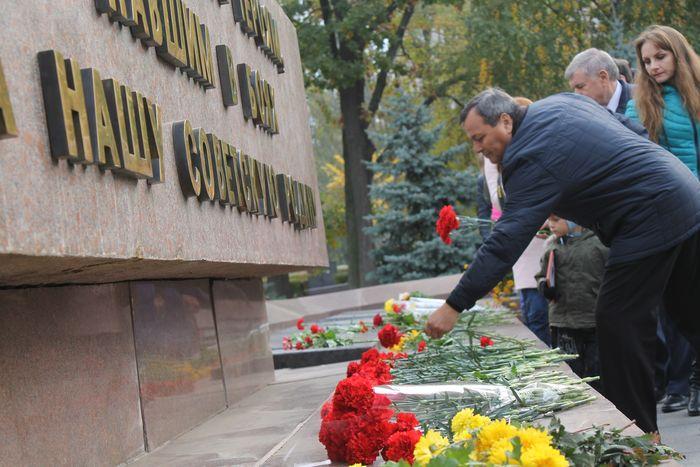 В Николаеве отметили 73 годовщину освобождения от фашистов (ФОТО)