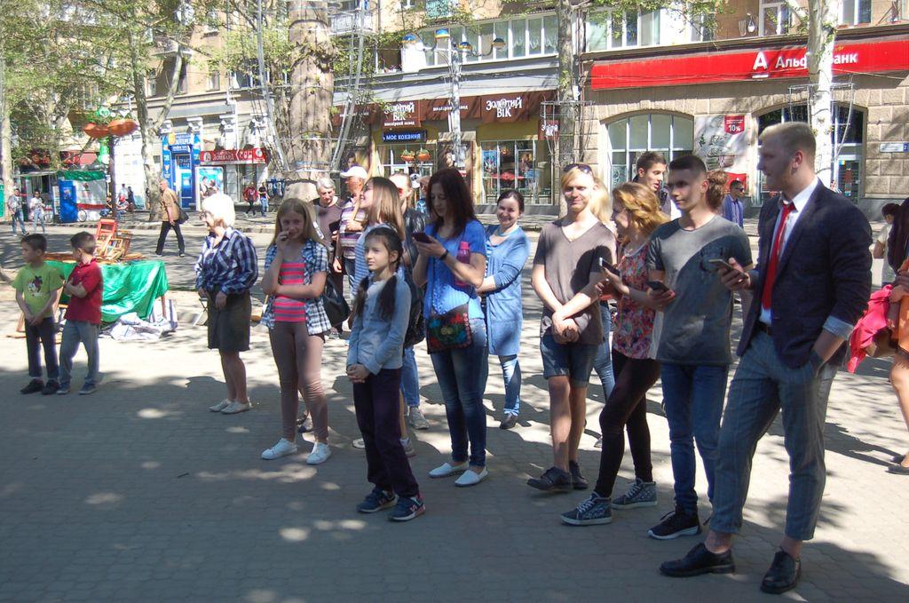 Миколаїв знову співає на Соборній