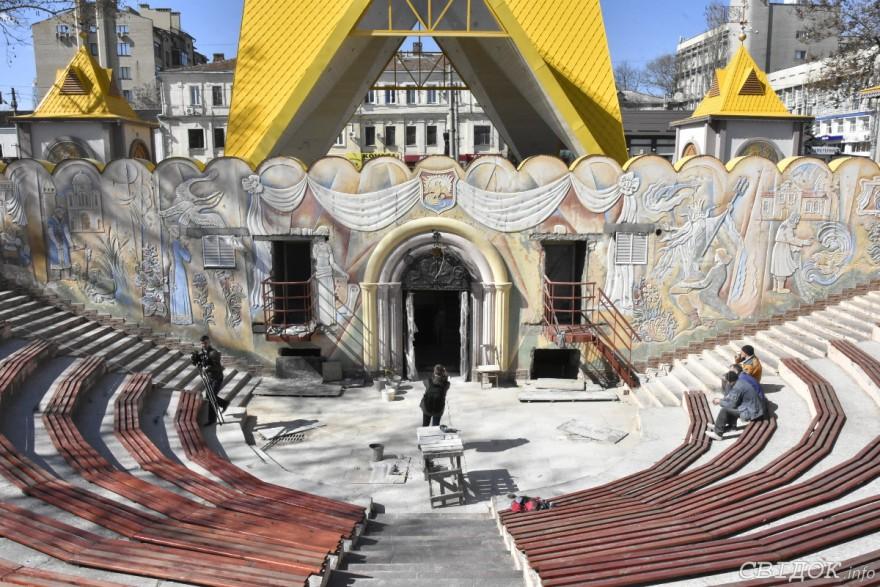 Как детский городок «Сказка» будет выглядеть после реконструкции