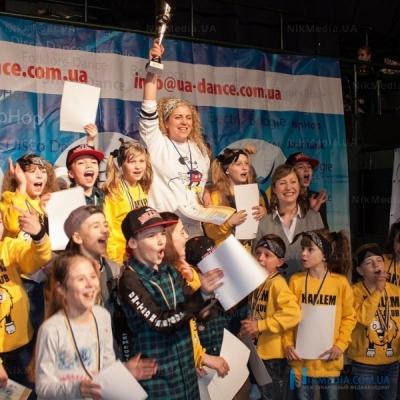 В Николаеве состоялся юбилейный концерт клуба танца «Harlem»