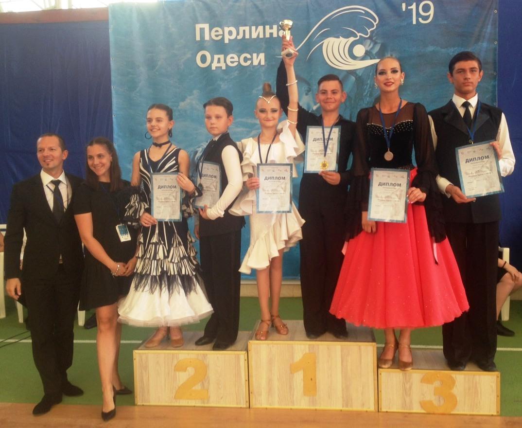 Николаевские танцоры стали призерами на всеукраинских соревнованиях