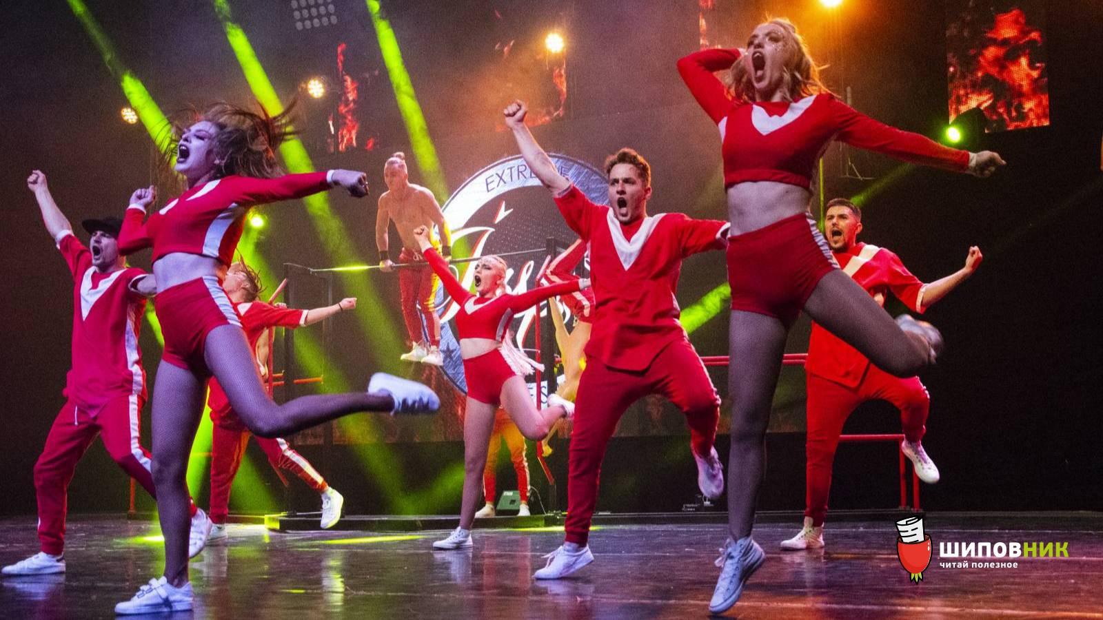 Коллектив Inspire не оставил равнодушными николаевцев, показав экстремально-танцевальное шоу