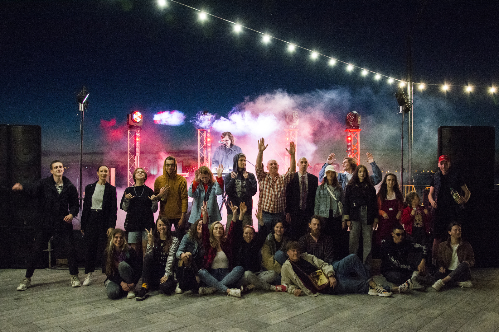 Первый open air в Николаеве в 2021 году: Mykolaiv ART Week завершился музыкальным концертом на *8 ПРИЧАЛе
