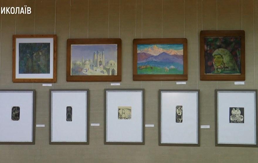В Николаеве открылась постоянная выставка работ Андрея Антонюка