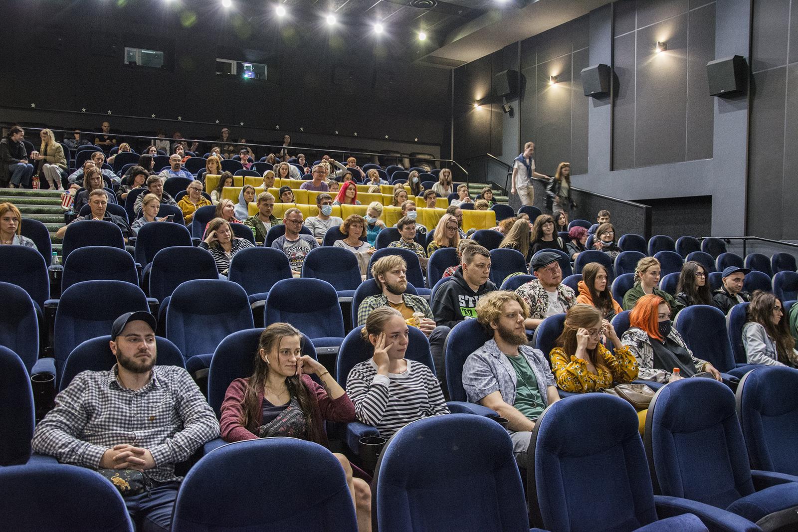 Город-лидер по количеству зрителей: николаевцам показали отреставрированный фильм «Пролетая над гнездом кукушки»