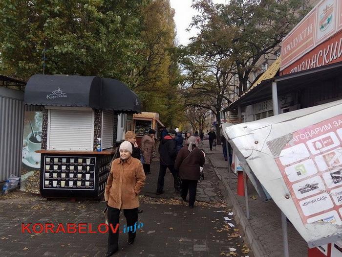 На округе депутата от «Самопомощи» в Корабельном районе появились новые будки