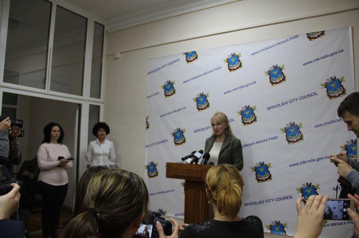 В Николаевском горсовете состоялось открытие пресс-центра