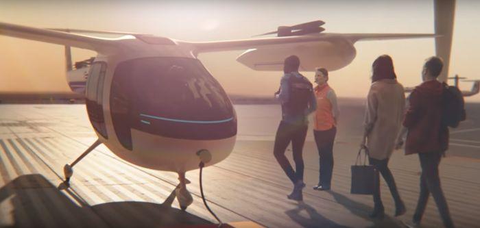 Uber и NASA заключили контракт по запуску летучего такси (ВИДЕО)