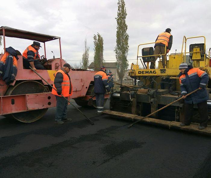 Городские службы начали ремонт дороги по ул. Гагарина