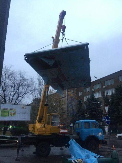 Полиция будет расследоватьнезаконный демонтаж билбордов на Фалеевской