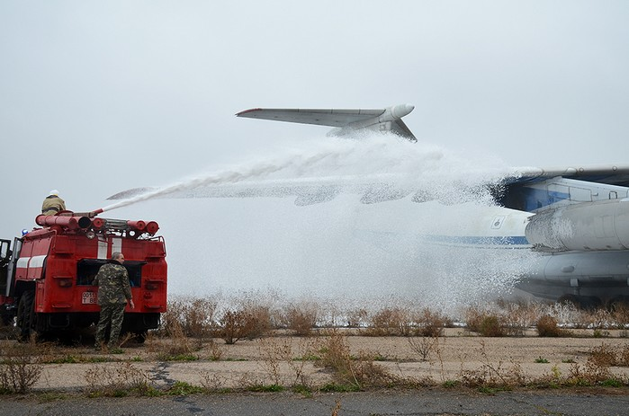 На территории Николаевского международного аэропорта состоялись специальные тактические учения (ФОТО, ВИДЕО)