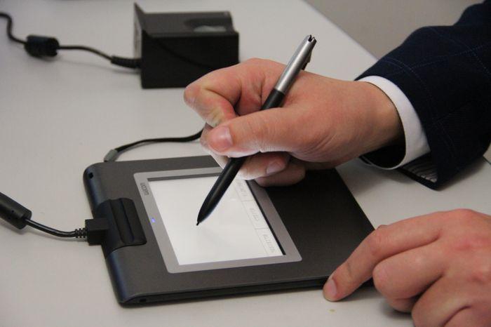 В Николаевских ЦПАУ установили станции для обработки документов на загранпаспорта