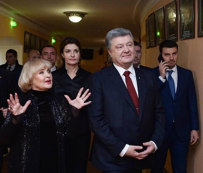 Одній із найвеличніших актрис сучасності президент України вручив премію імені Олександра Довженка