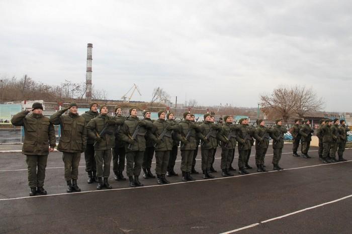 Миколаївські гвардійці склали присягу