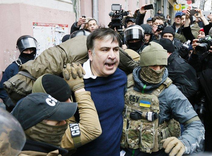 Саакашвили арестован и помещен в СИЗО